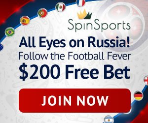 World Cup Promo Spin Palace Sports