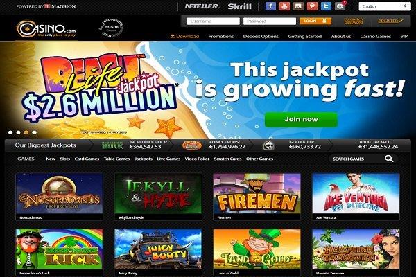 Casino.com Pokies