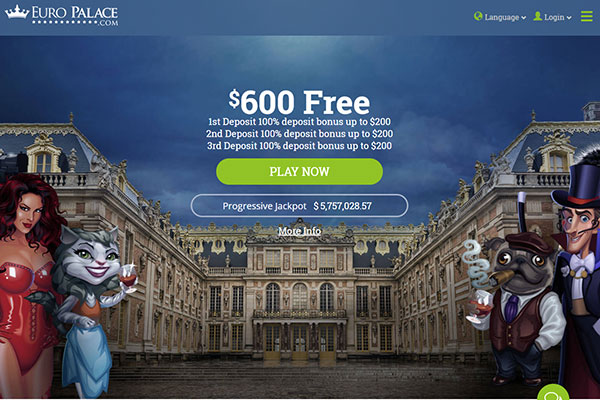 Europalace NZ home page