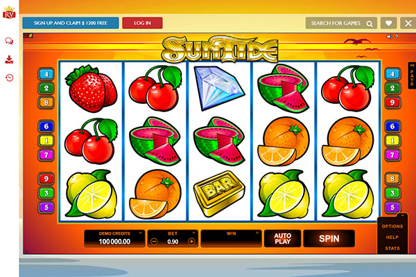 Royal Vegas New Zealand Suntide pokie