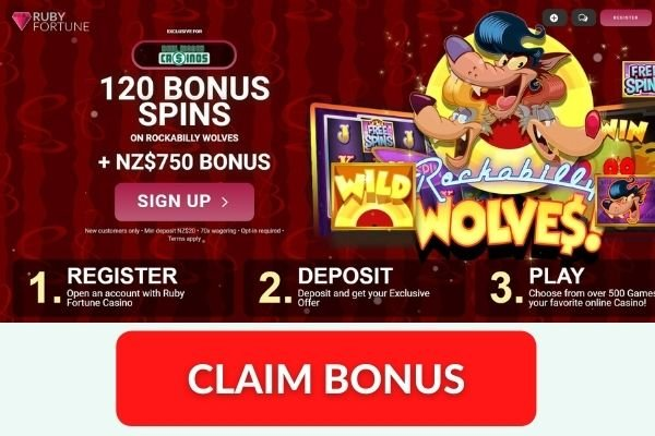 ruby fortune casino exclusive 120 free spins