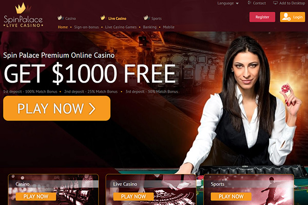 Spin Palace NZ Live Dealer