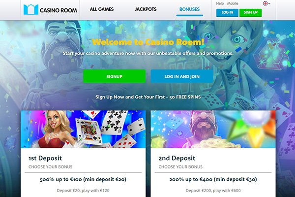casino room NZ bonus