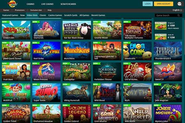 Luck Land Casino Games