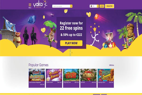 yako casino new home page