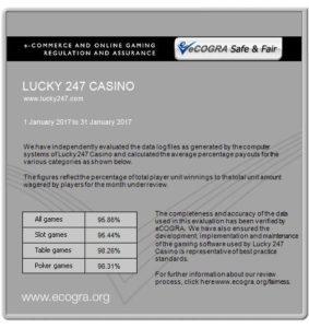 eCOGRA Report