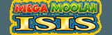 Logo of Mega Moolah Isis slot
