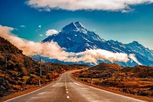 NZ Southern Alps Road trip
