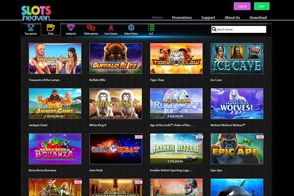 Slots heaven casino download poker tv live