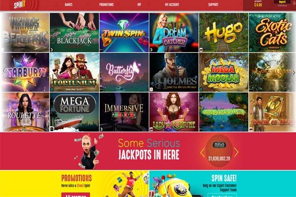 screenshot spinit games
