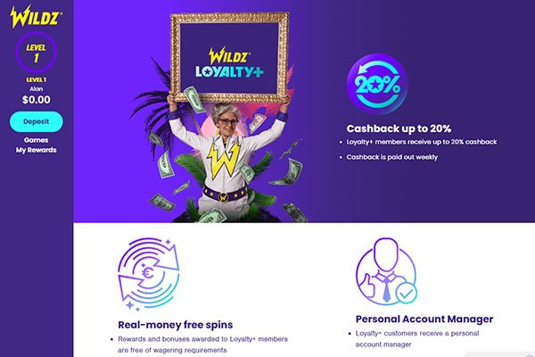 Wildz casino promotions