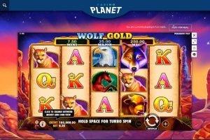 casino planet nz pokies wolf gold