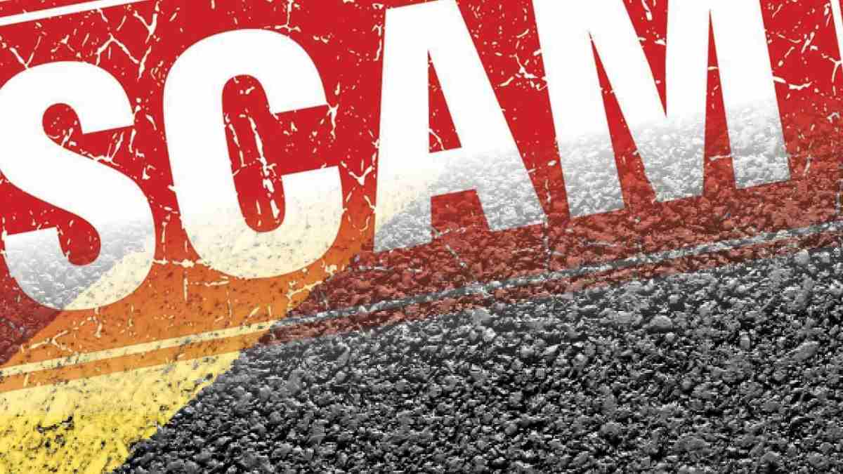online casino scam alert red warning sign