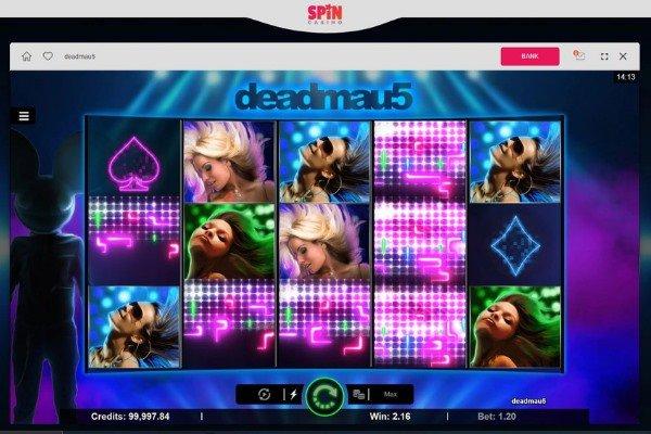 Spin Casino Deadmau5 slots
