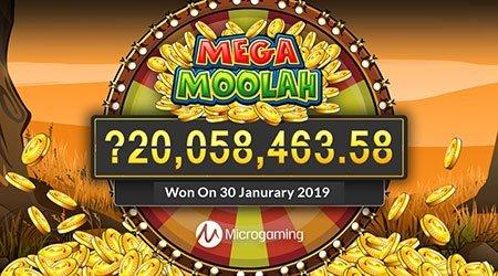 Mega Moolah jackpot pokies