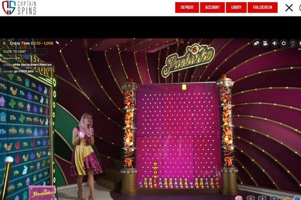 captain spins live casino new zealand crazy time