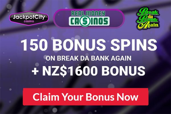 Jackpot City NZ Free Spins Exclusive offer