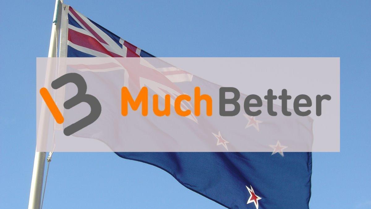 muchbetter logo over a photograph of a waving new zealand flag