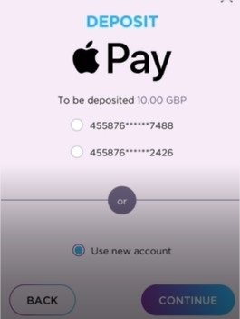 Apple Pay Deposits at an Online Casino