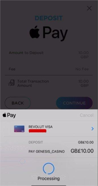 ApplePay Casino Deposit Processing